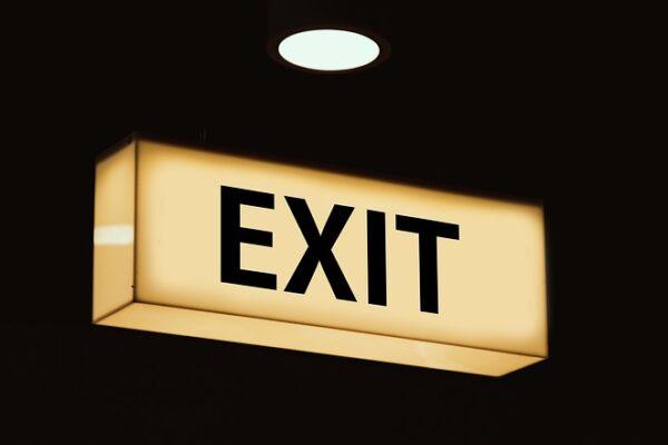 Exit skilt