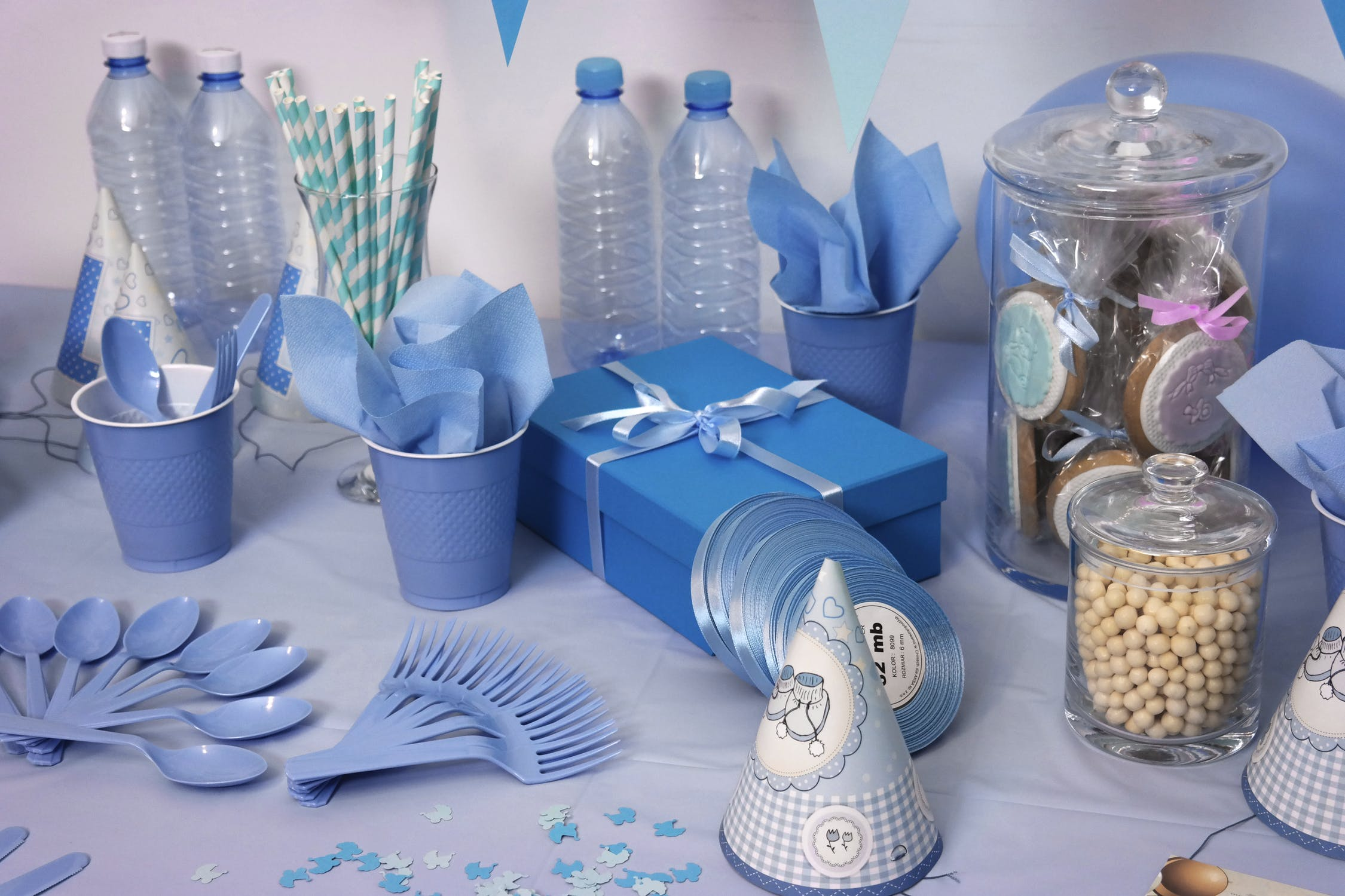 Babyshower dekorationer