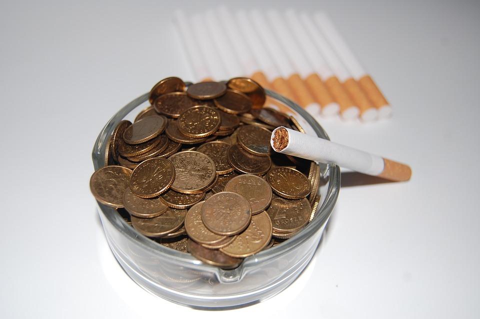 Stop rygning spar penge