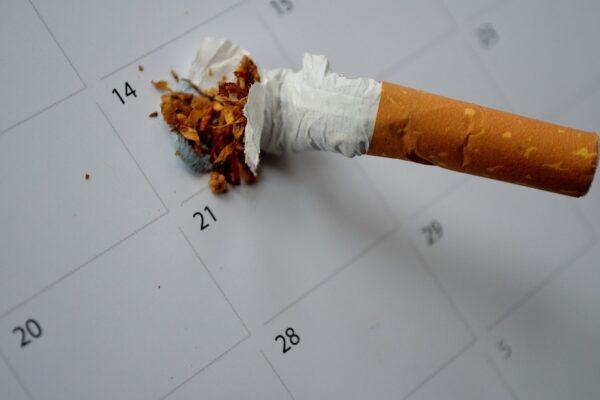Stop rygning planlæg dato